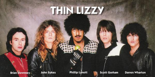 Thin Lizzy final lineup.